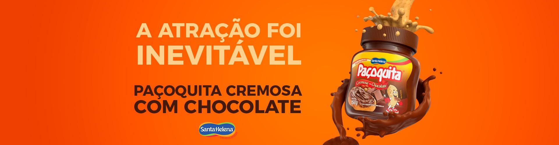 Paçoquita-Chocolate