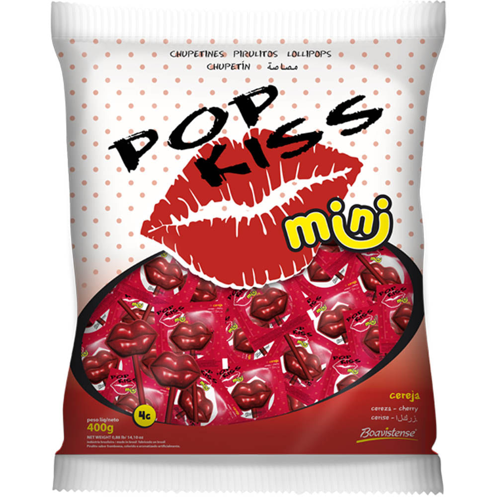 Pirulito-Mini-Pop-Kiss-Cereja-Boavistense