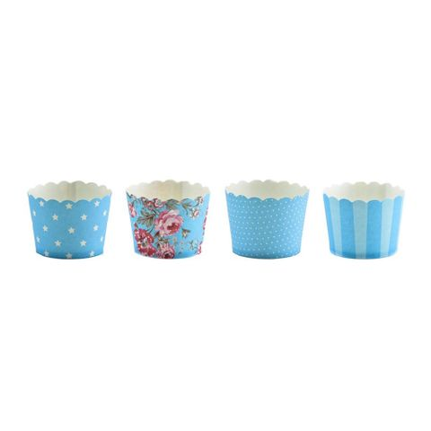 Kit-Cupcake-Mix-Floral-Azul-c-40---Doce-Decor
