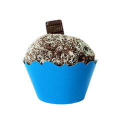 Mini-Porta-Cupcake-Liso-Azul-c-12---Kid-Art