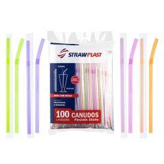 Canudo-Flexivel-Shake-c-100---Strawplast
