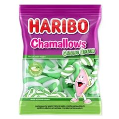 Marshmallow-Cables-Green-250g---Haribo