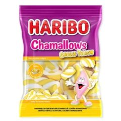 Marshmallow-Cables-Yellow-250g---Haribo