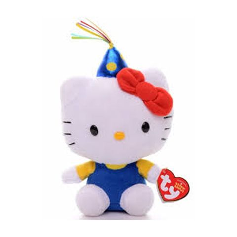 Hello-Kitty-Pelucia-Beanie-Babies-