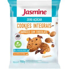 Cookies-Zero-Acucar-Damasco-com-Chocolate-150g---Jasmine