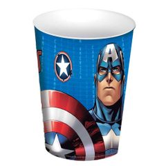 Capitao-America-Copo-320ml---Plasutil