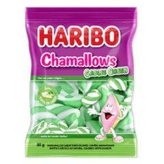 Marshmallow-Cables-Green-80g---Haribo