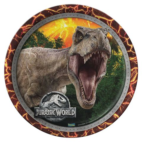 Jurassic-World-New-Prato-Papel-18cm-c-8---Festcolor