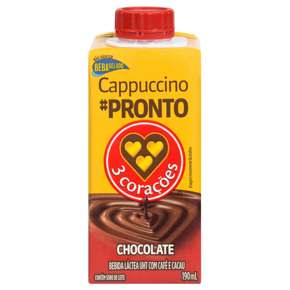 Capuccino-Chocolate-190ml---Tres-Coracoes