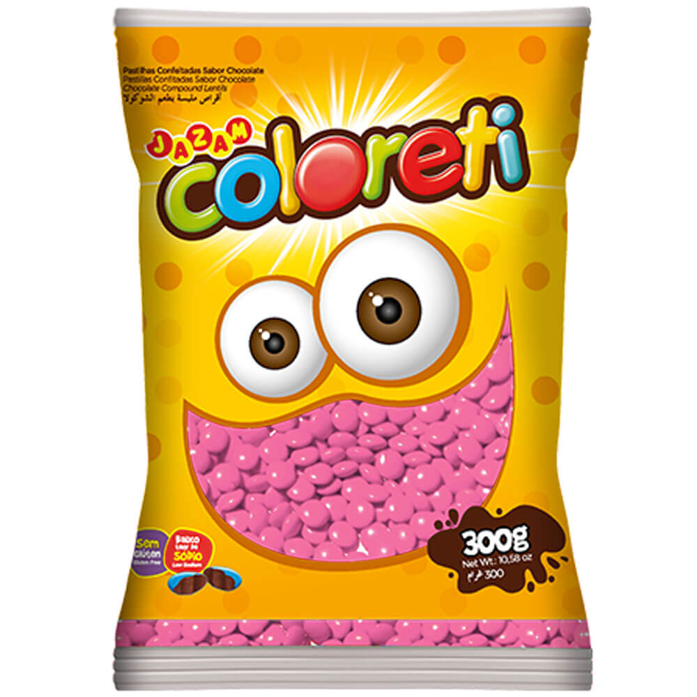 Mini-Confeito-Chocolate-Rosa-Coloreti-300g---Jazam