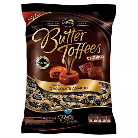 Bala-Butter-Toffees-Chocolate-Amargo-600g---Arcor