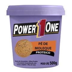 Pasta-Amendoim-Pe-de-Moleque-Proteico-Power-One-500g---Nut